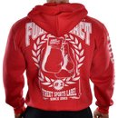 PRO VIOLENCE Zip-Hoodie FULLCONTACT rot